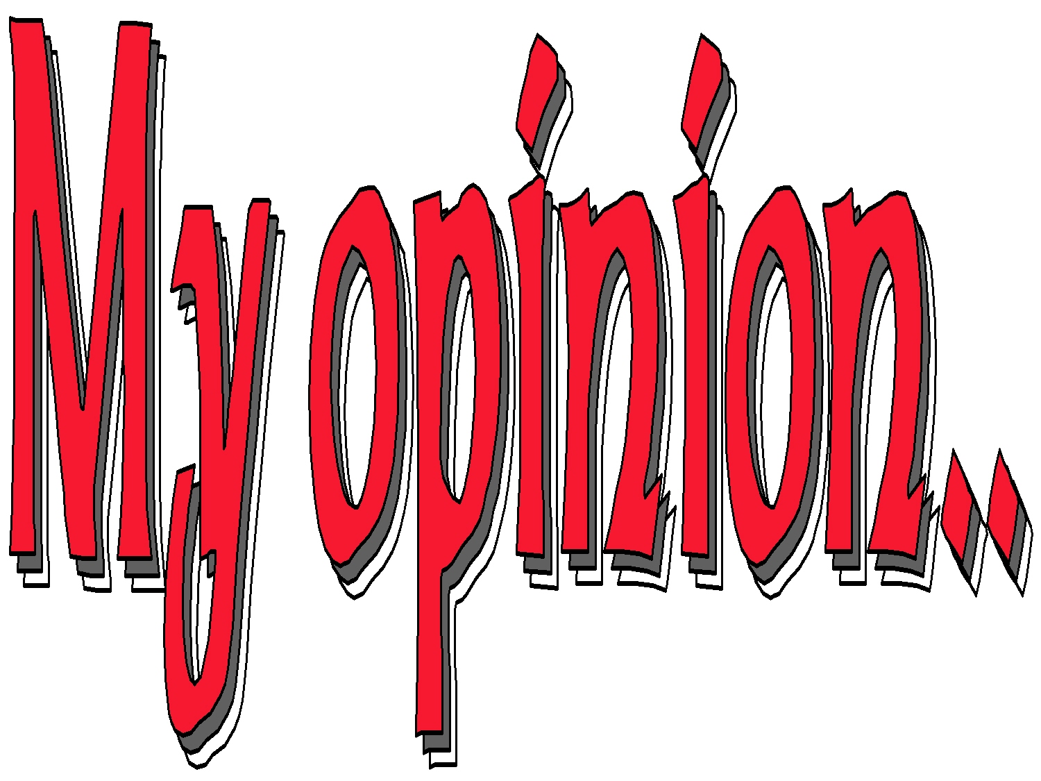 in my opinion Complete surveys for money with my opinions australia get in touch today to start turning your opinions into cash.