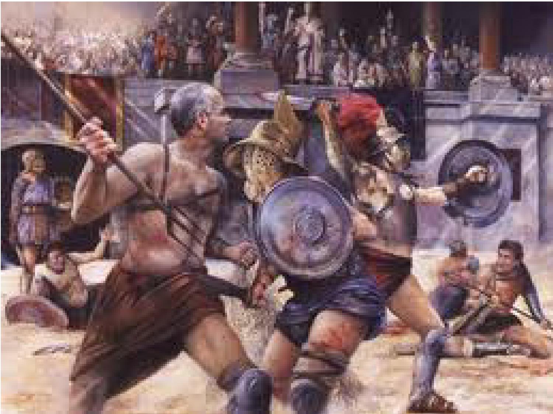 Gladiators Rome 2012