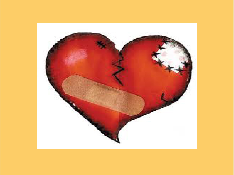 broken heart metaphor