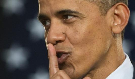 Obama silence