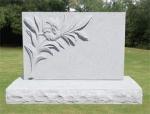 headstone - white