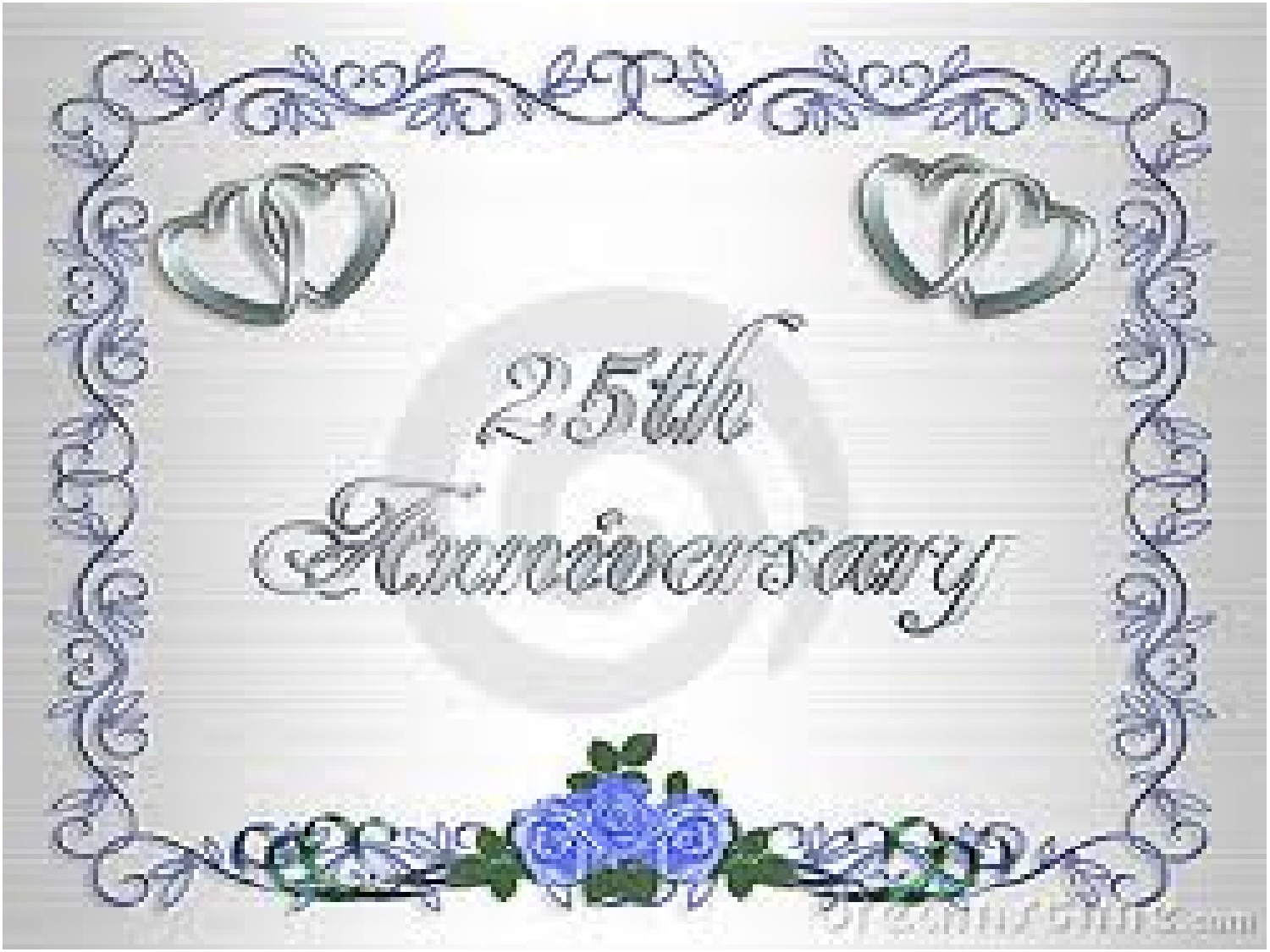 Today Is My 25th Wedding Anniversary