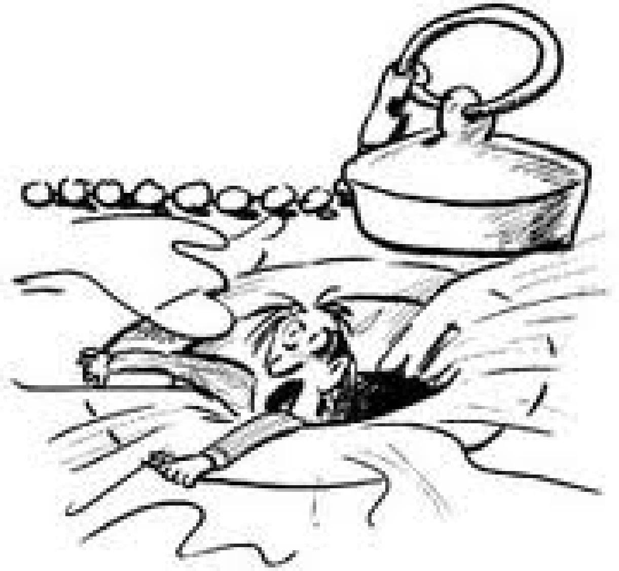 how to get hari outta a drain
