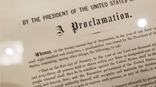 Emancipation Proclamation 1a