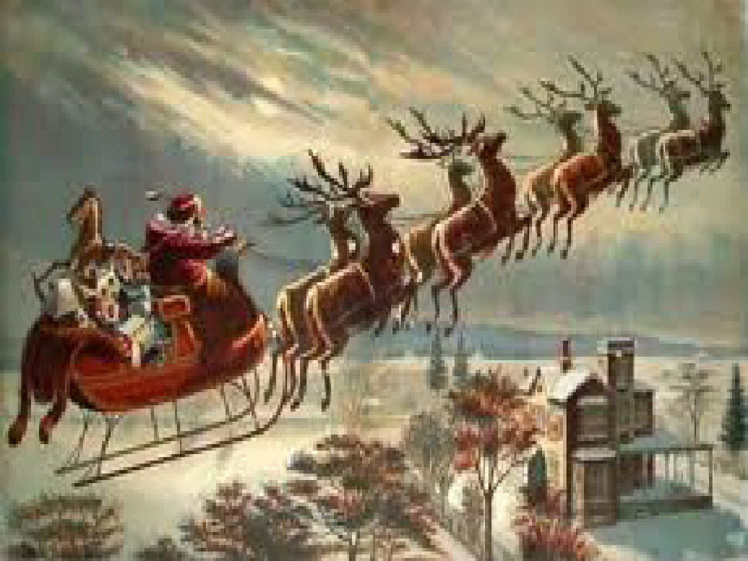 """The poem, also known as; """"A Visit from St. Nicholas"""" as it was ..."""
