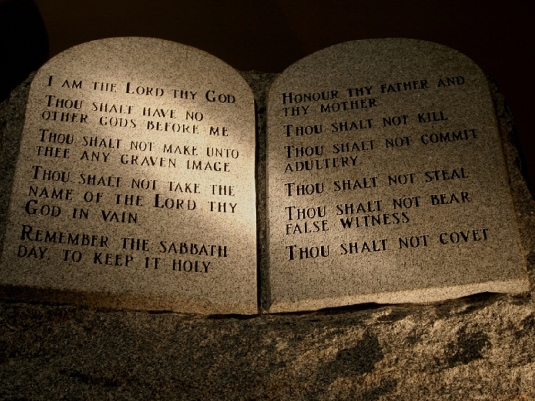 the 10 Commandments 6a