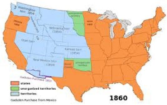 US territory 1860. 1a jpg