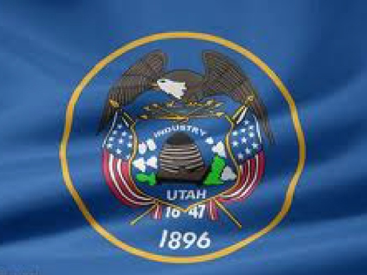 Utah State flag 1a