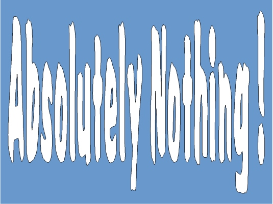 absolutely nothing 2
