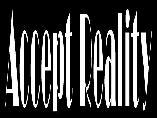 accept reality 1a