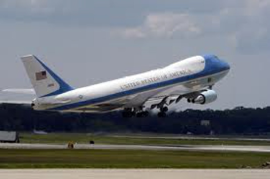 Air Force One taking off