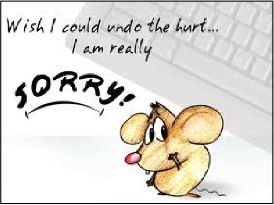 I'm really sorry 1