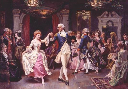 George Washington inaugural bal