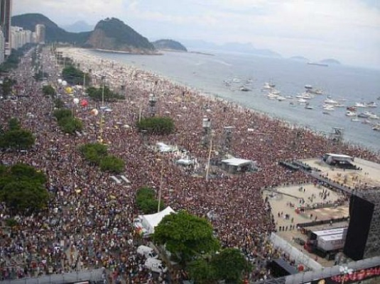 Rolling Stones, Rio, September