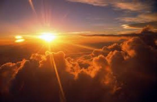 sunrise from God 1