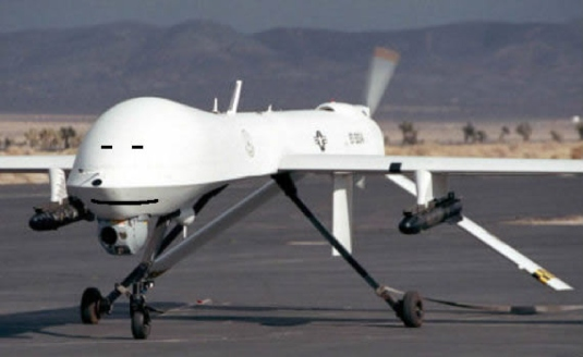 armed drone in America 1