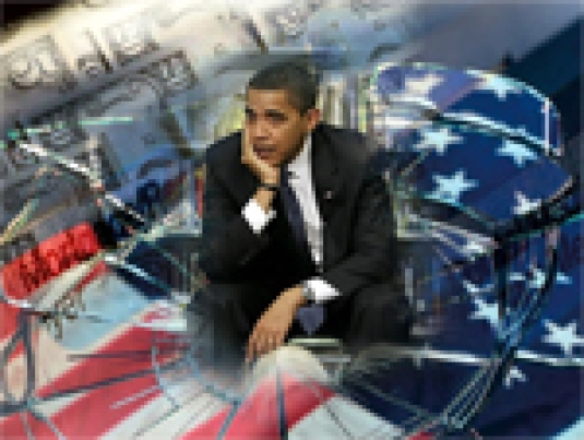 Barack Obama in a broken Americ
