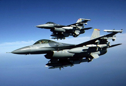 F-16 jet fighters 1