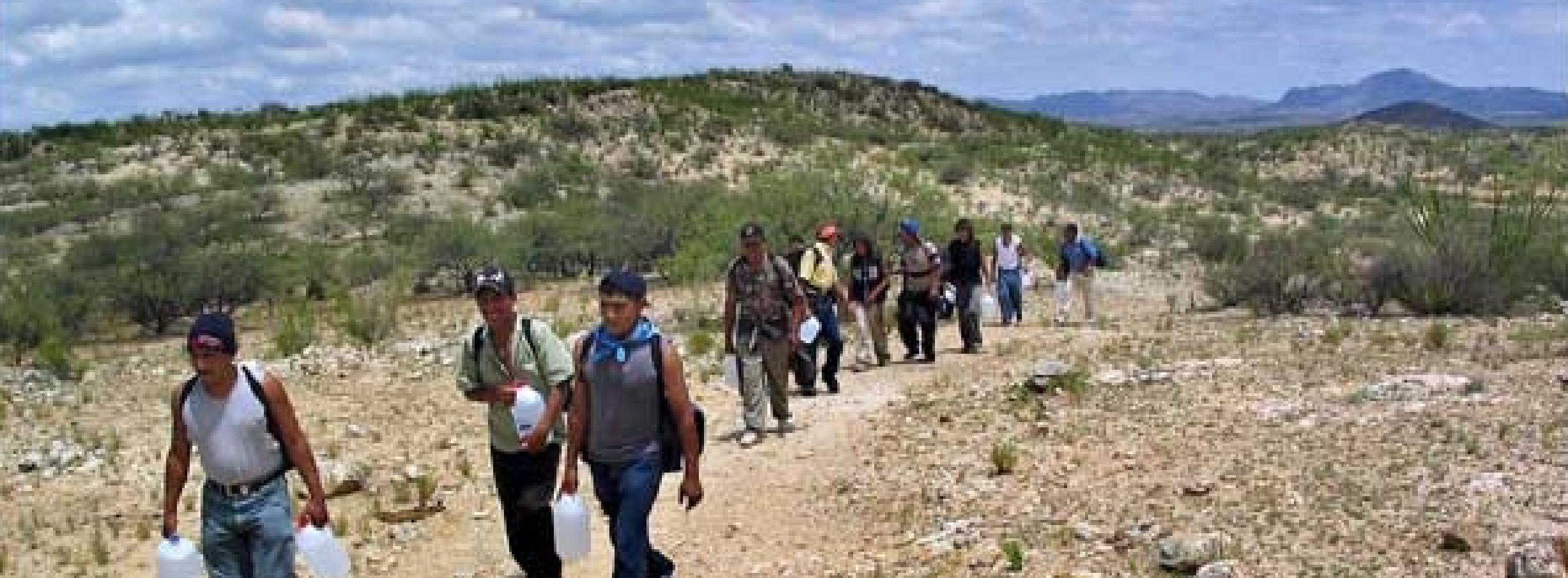 how to help children border crossing