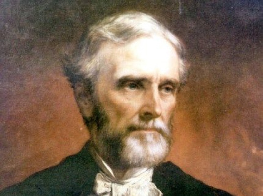 Jefferson Davis, president of t