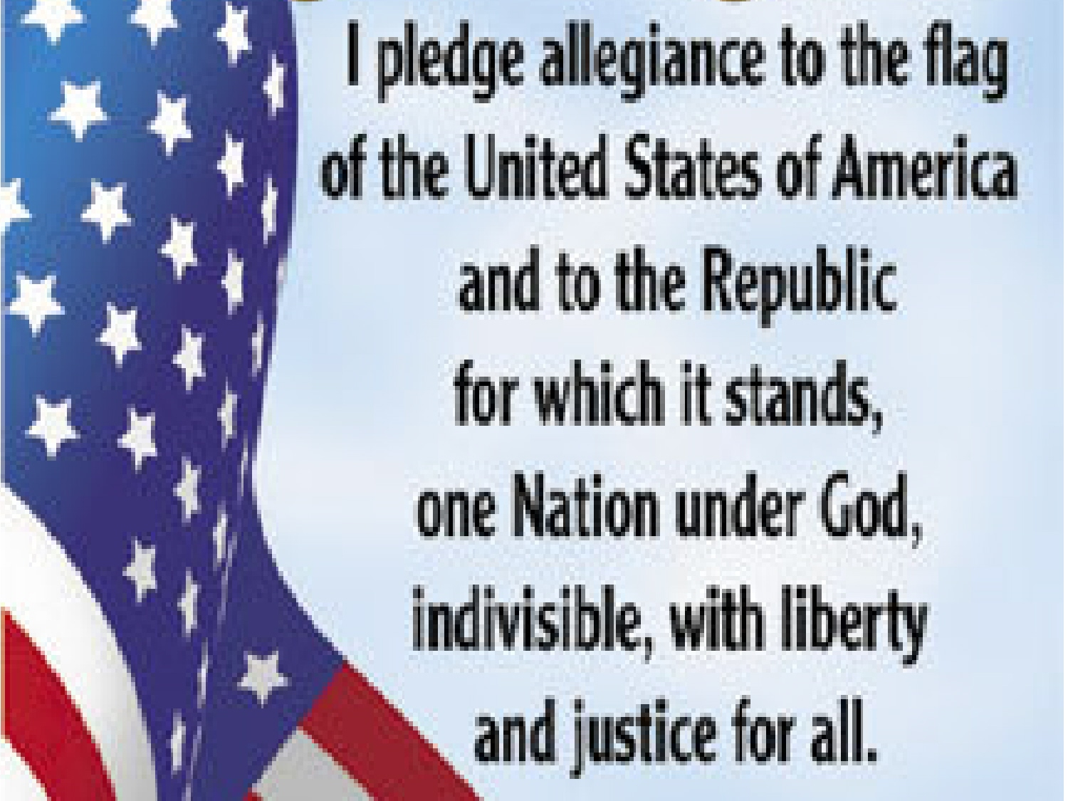 What The Pledge Of Allegiance Means To Me