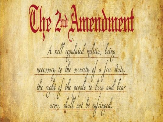 Second Amendment of the Constit 2