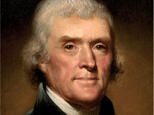 thomas jefferson and his views on