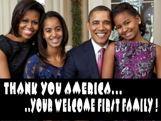 you're welcome first family 1
