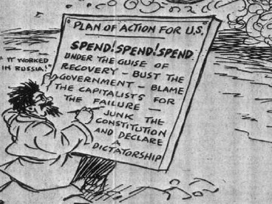 1934 Cartoon Blow-up 1a