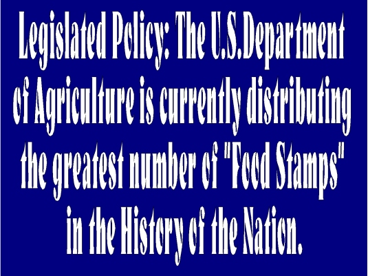 food stamp policy 1