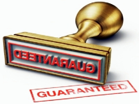 guarantee stamp 1a