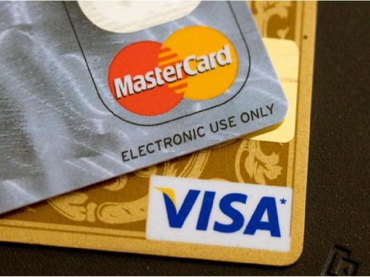 MasterCard and Visa 1