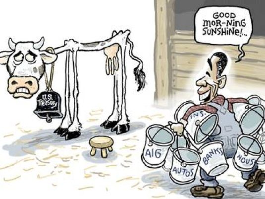 Obama melting the country dry 1a