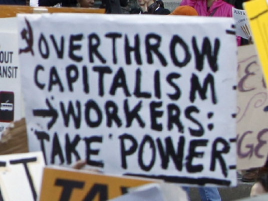 overthrow capitalism 1a