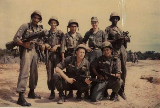 weapons squad, Vietnam 65