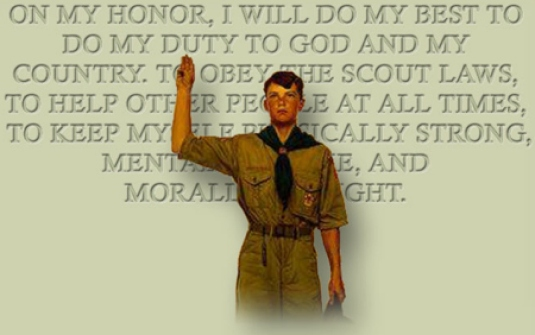 Boy Scout pledge 1