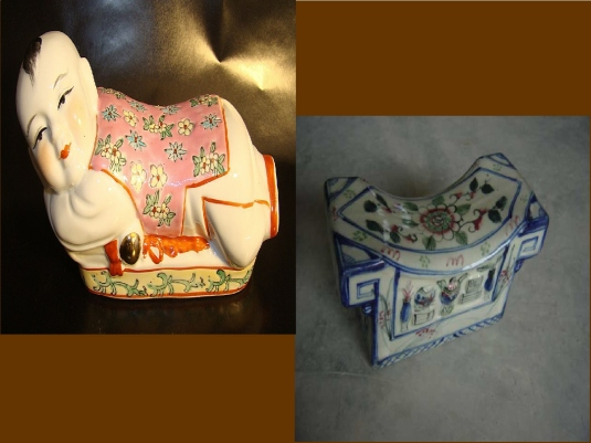Chinese porcelain pillows 1a