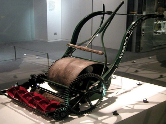 Edwin Beard Budding Lawnmower 2