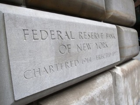 Federal Reserve Bank placard