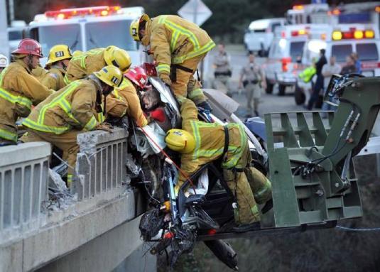 firemen rescue