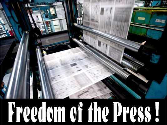 freedom of the press 1a