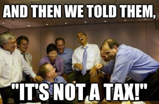 it's not a tax 1