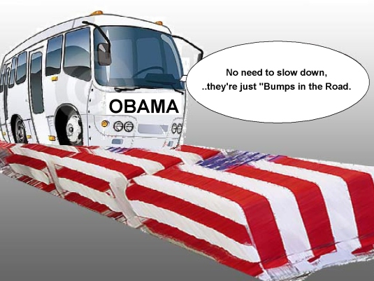Obama  - 1a  just a bump in the roa