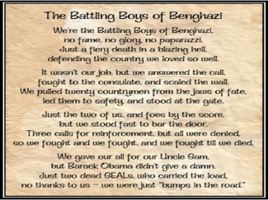 The Battling Boys of Benghazi 1