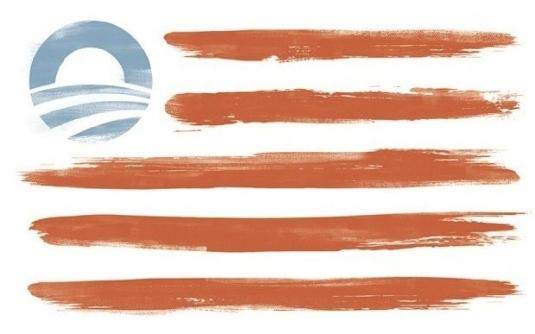 the Obama flag 1