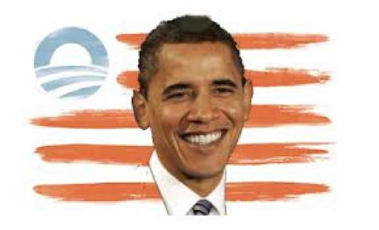 the Obama flag 2