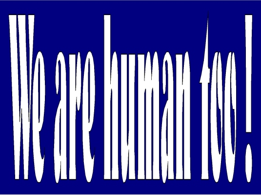 we are human too 1a