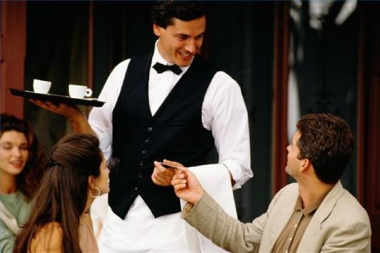 a waiter 1
