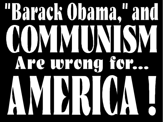 Barack Obama and communism 1a