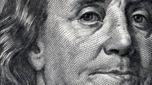 Ben Franklin - close-up 2